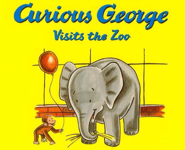 《好奇的乔治Curious George》英文原版书籍—— PDF+MP3免费资源