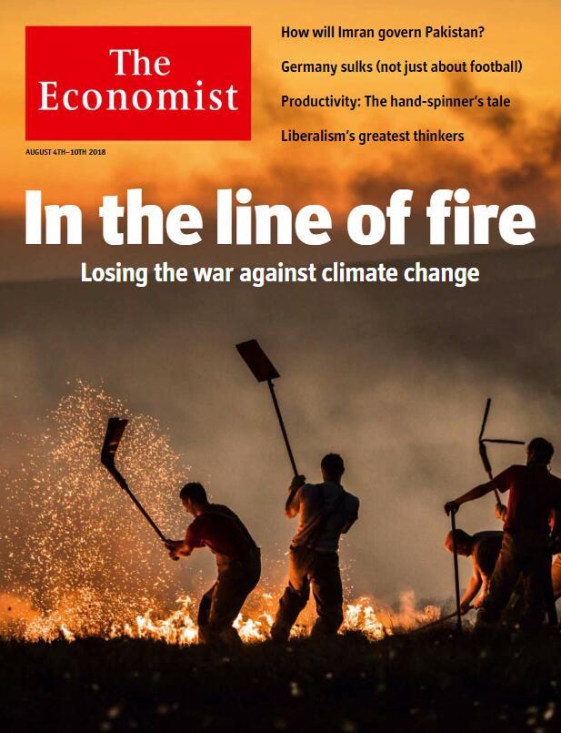 2018年《经济学人》PDF8月刊你还没有吗?