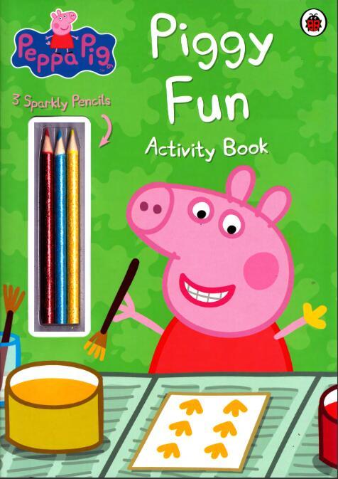 英文版<b style='color:red'>小猪</b>佩奇系列原版绘本《<b style='color:red'>小猪</b>们的快乐》高清PDF下载全集下载。