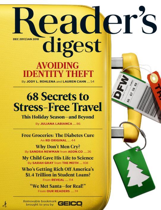 《读者文摘》(Reader's Digest)百度云分享!