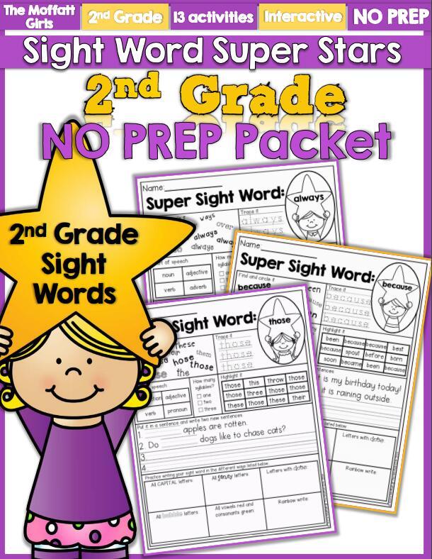 《sight words super stars》(1-5全册)—— 云盘免费下载免费资源