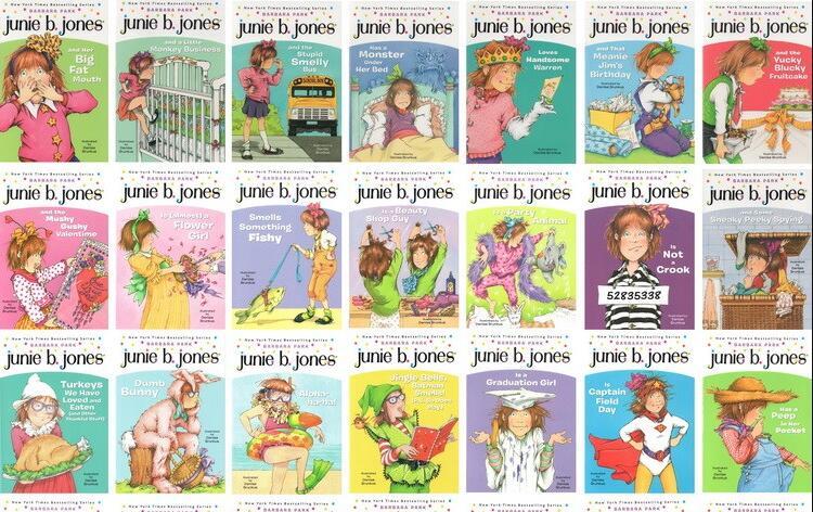 朱尼·琼斯系列少儿英文原版桥梁书—— 云盘免费下载必备资源下载!