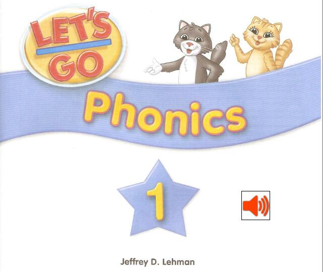 《Let's Go Phonics》—— 高清pdf+mp3音频云盘免费下载全系列