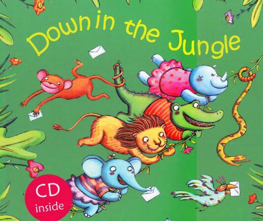 廖彩杏绘本精讲|Down in the Jungle 在丛林里(PDF+JY音频)