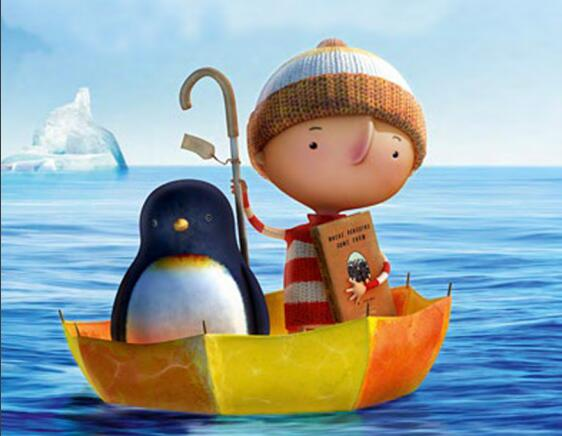 《小男孩和企鹅的故事》少儿英语绘本 适合6岁以下儿童全系列