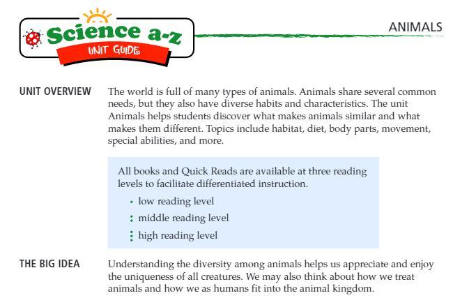 《ScienceA-Z 分级读物》绘本+单元测试+释义卡云盘免费下载最新