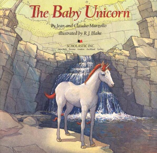 少儿英语绘本《独角兽宝宝》—— 高清PDF资源