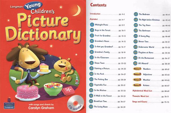 《朗文幼儿英语图解词典》孩子学习英语词汇的首选免费分享。