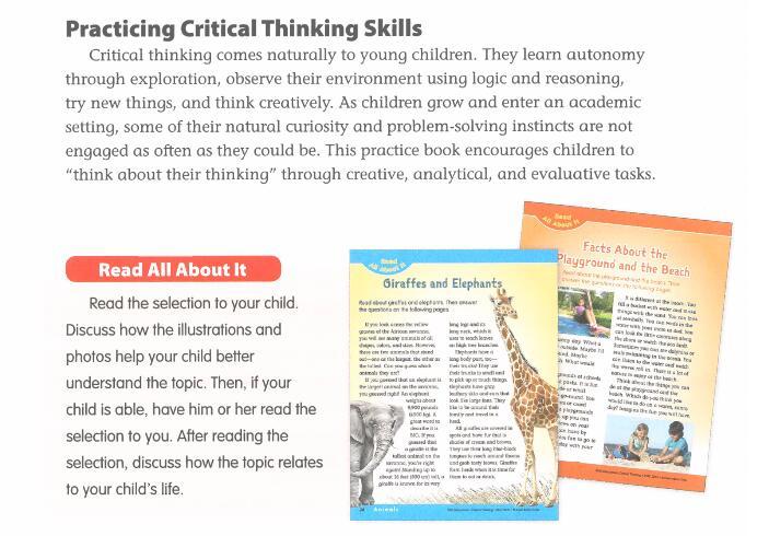 "Critical Thinking 练习册,培养孩子""批判性思维"",就从这里开始免费分享。"