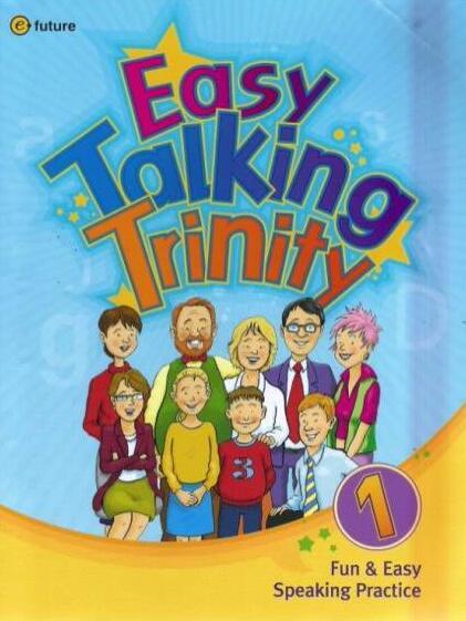 Easy talking trinity 1–3 少儿英语口语教材网盘下载!