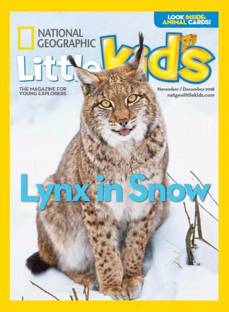 美国<b style='color:red'>国家地理</b>幼儿版3-6岁National Geographic Little Kids 2018年11/12月刊资源分享