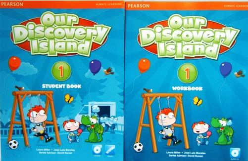 朗文探索少儿英语《Our Discovery Island》全套互动软件电子课本