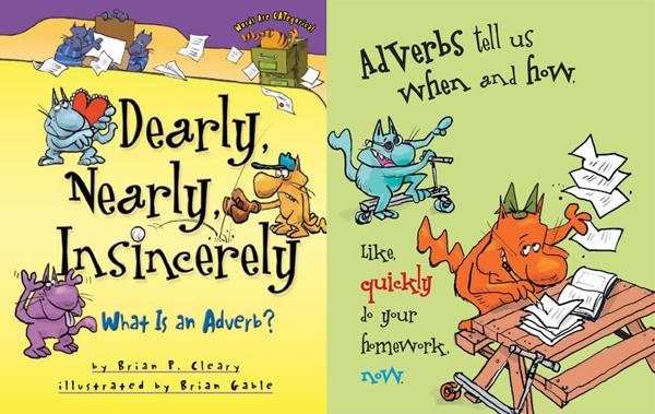 Brain P. Cleary搞笑英语语法绘本免费下载(共8本)资源大全