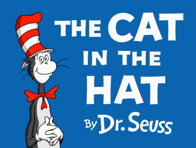 戴帽子的猫动画片The cat in the hat 苏斯博士经典绘本