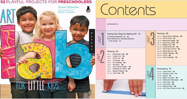 史上经典儿童绘画启蒙书《Art Lsb For Little kids》下载
