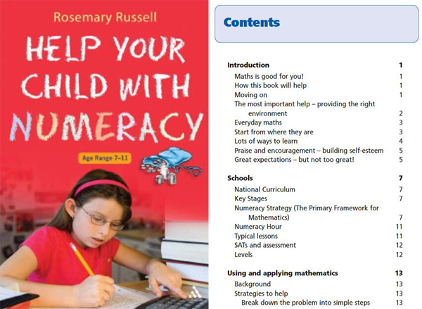 DK出品高清绘本《Help Your Child With Numeracy Ages 7-11》pdf英文版全系列