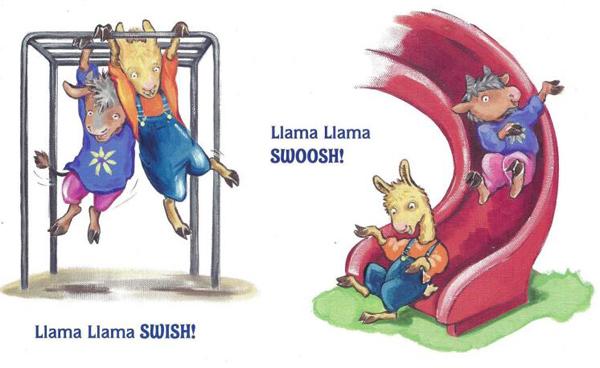 羊驼拉玛绘本《Llama Llama Holiday Drama》PDF格式网盘自取。