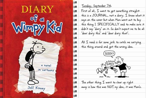《小屁孩日记 Diary of a Wimpy Kid》1-13册+4部电影网盘下载!