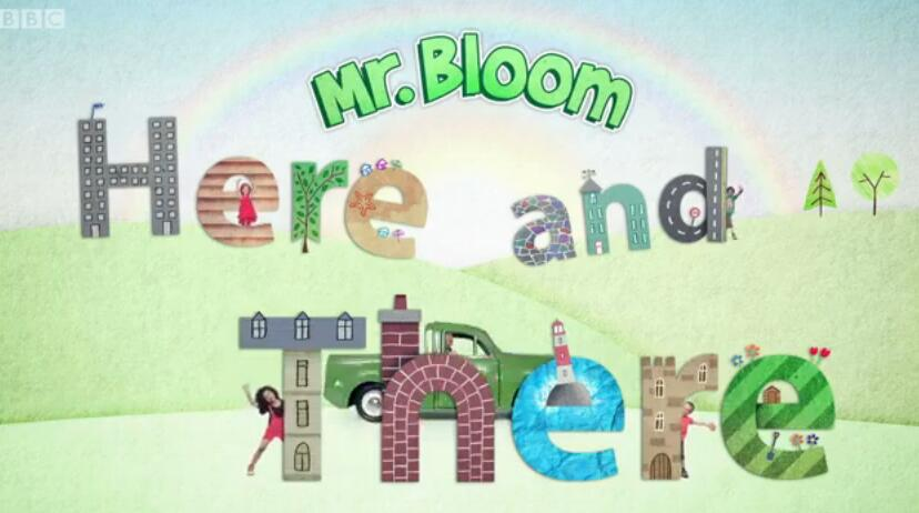 BBC户外探索儿童节目Mr Bloom here there第1、2季(共40集 MP4资源)电子书