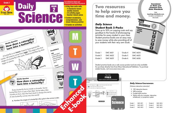 少儿科普杂志《Daily Science》 开阔孩子科学眼界资料下载