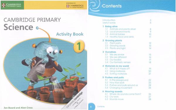 剑桥通用学科-科学《Cambridge Primary Science》学生用书+活动手册免费领取!