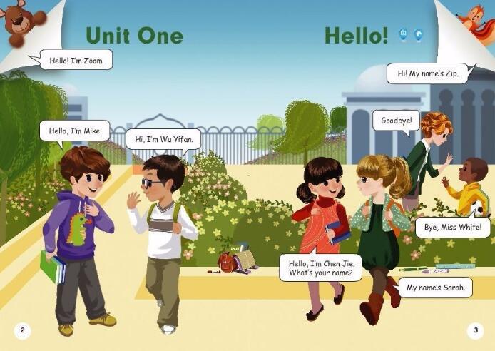 人教版小学英语教材+上课视频 3-6年级全