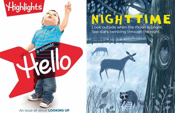 风靡全球的美国幼儿杂志《Highlights Hello》2019年全年期刊全套