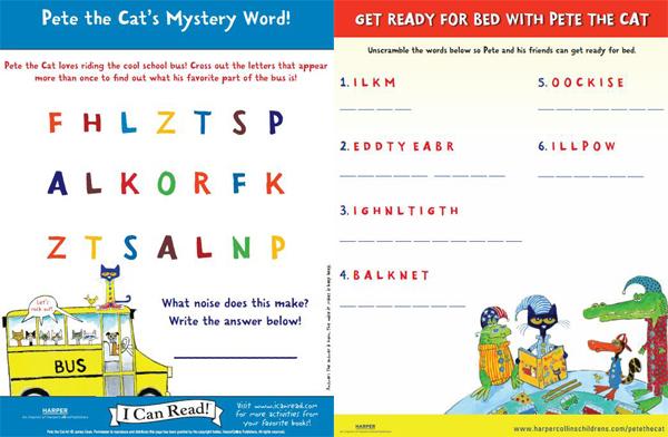 《皮特猫》绘本一共有几本?提高孩子情商的优质图书电子版下载!