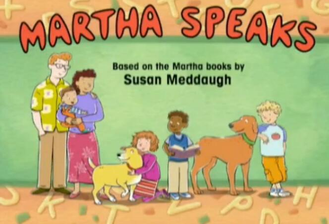 Martha Speaks玛莎说话 第一季 英语动画片百度网盘全套分享