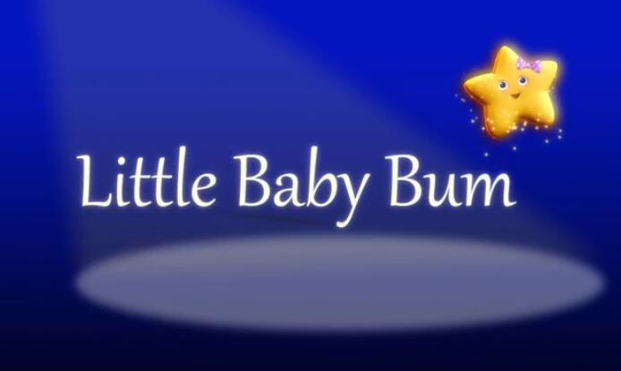 英语儿歌《Little Baby Bum》YouTube排名第一的教育类频道