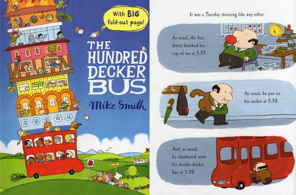 冒险故事绘本《100层的巴士》 每一层、每一程皆美景你需要吗?