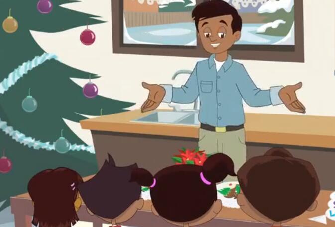 《super simple song》3S圣诞节英语儿歌