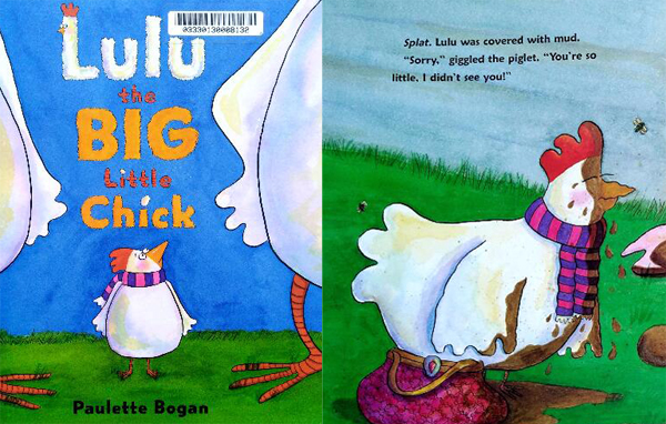 趣味少儿英语绘本《 lulu the big little chick》让孩子不再觉得英语枯燥电子课本
