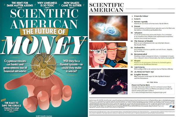 《科学美国人》 2019年英语科普杂志全年刊电子课本