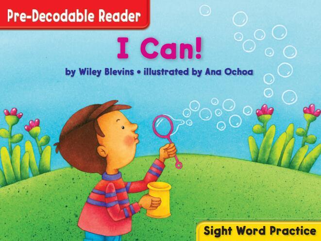 少儿英语启蒙教材California Pre_Decodable Sight Word Practice 来自美国加州无偿分享!