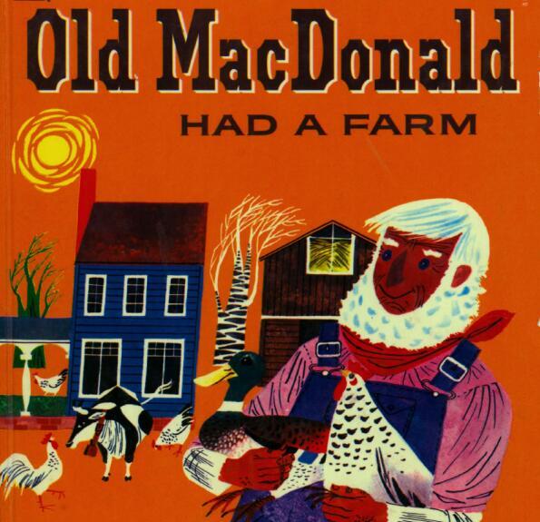 磨耳朵Old MacDonald Had a Farm金典童谣值得收藏!