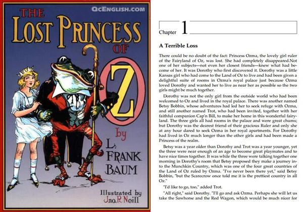 奥兹国历险记 The Wizard of OZ 系列 美国儿童文学金典推荐