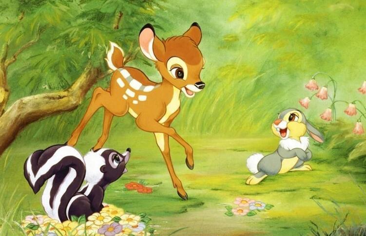 《小鹿斑比 Bambi》读后感及英语绘本下载免费分享