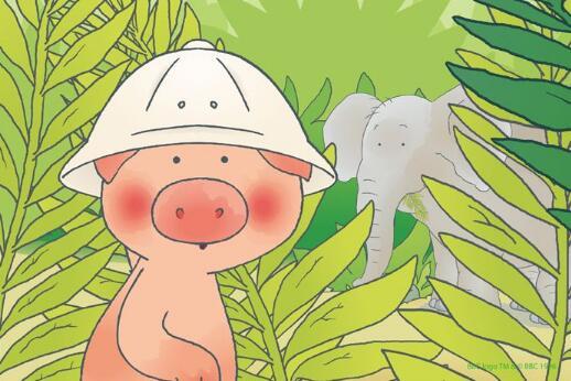 小猪威比 Wibbly Pig 52集全 打造孩子想象力的少儿英语动画(电子版+视频)