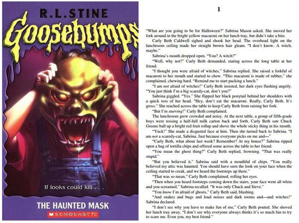 销量最大儿童系列丛书 Goosebumps 鸡皮疙瘩系列电子版下载!