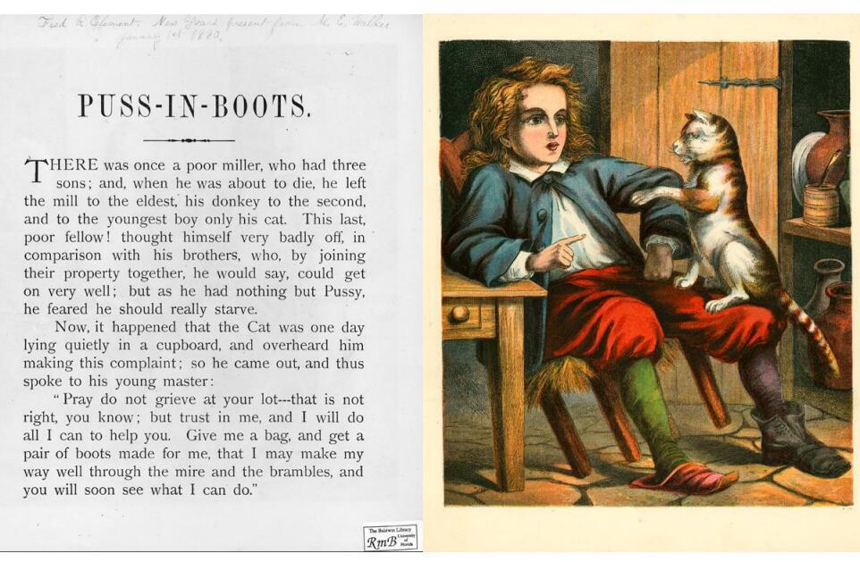少儿英语绘本《穿靴子的猫 Puss in Boots》音频分享!