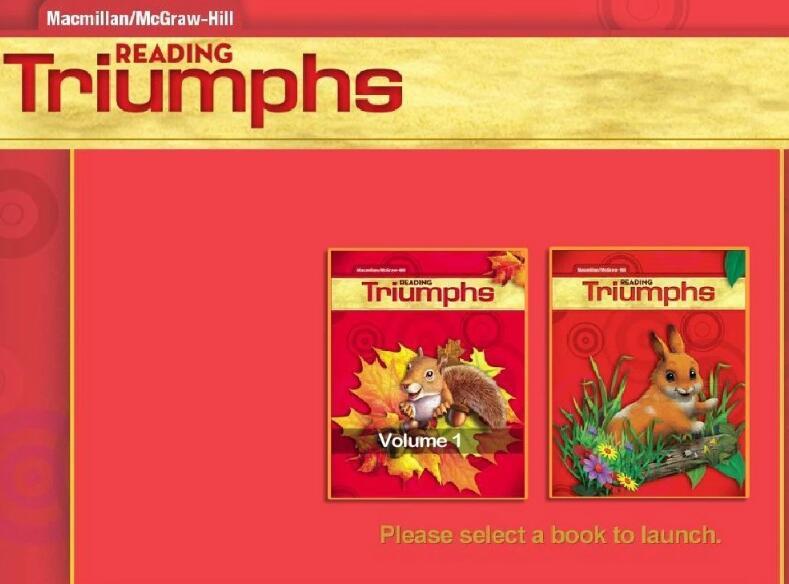 美国原版小学课本 《Reading Triumphs》