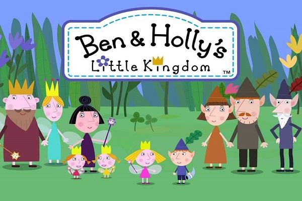 《本和霍利的小王国》(1到6季) 小朋友适合观看的动画片