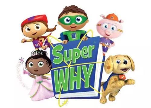 儿童英语动画片 《好奇超人》Super Why第2季百度云下载