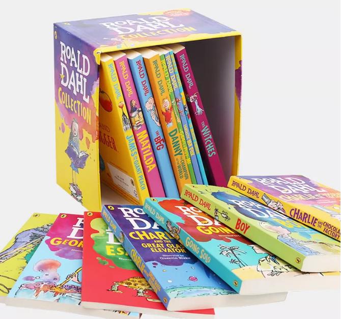免费分享罗尔德·达尔Roald Dahl作品集 让孩子爱上英文阅读免费下载地址。