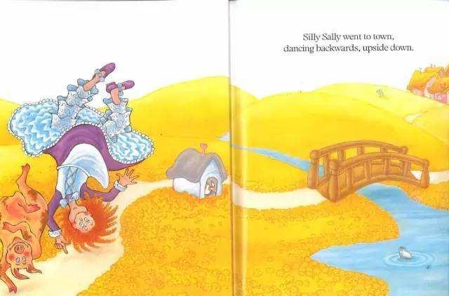 《silly sally 倒着走的女孩》pdf+MP3+mp4下载资源大全