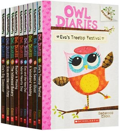 《猫头鹰日记》Owl Diaries MP3+原版电子书下载资料大全