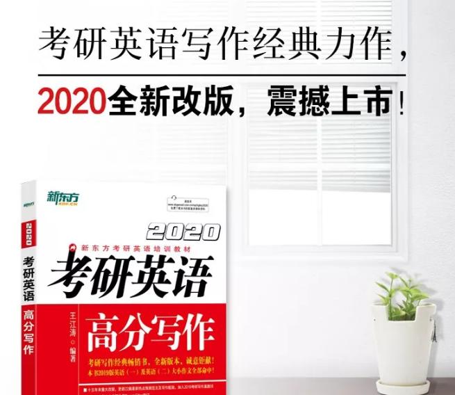 2020考研英语万能句型(附非常词汇资源)全套