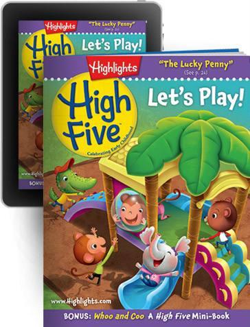 美国销量NO.1儿童英语杂志《Highlights High Five》PDF+mp3学习分享