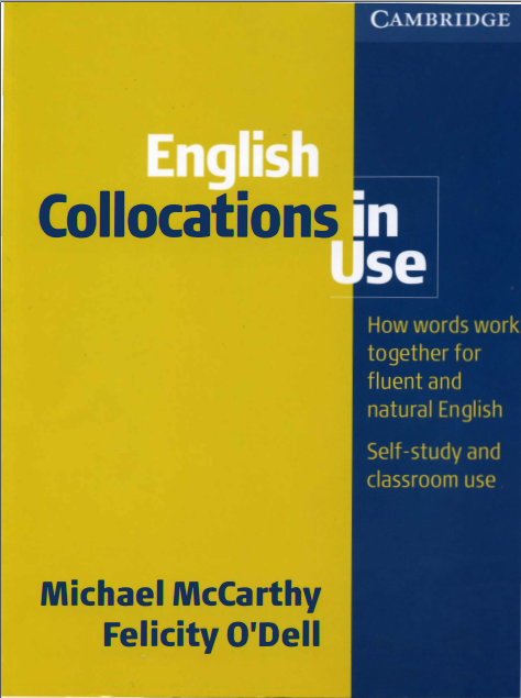 剑桥英语词汇搭配Cambridge - English Collocations in Use (Intermediate)百度云分享